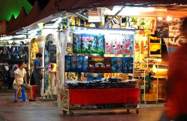 الاماكن السياحية في بينانغ, السوق الليلي في بينانج-2