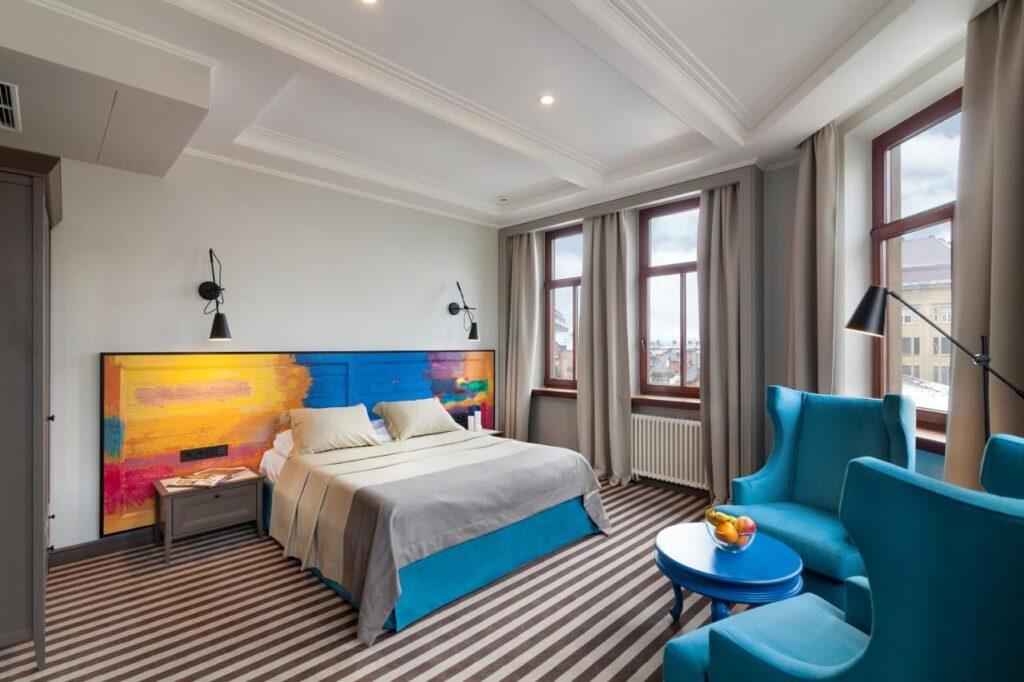 السياحة في اوكرانيا فندق بانوراما لفيف