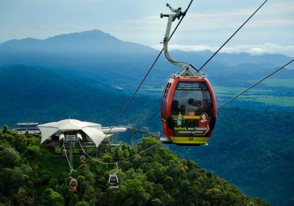 جسر السماء في لنكاوي السياحة في ماليزيا